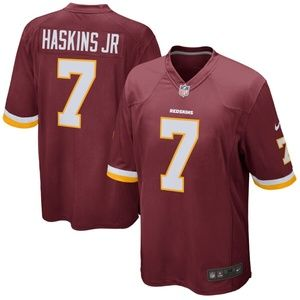 Men's Washington Redskins Dwayne Haskins Jersey